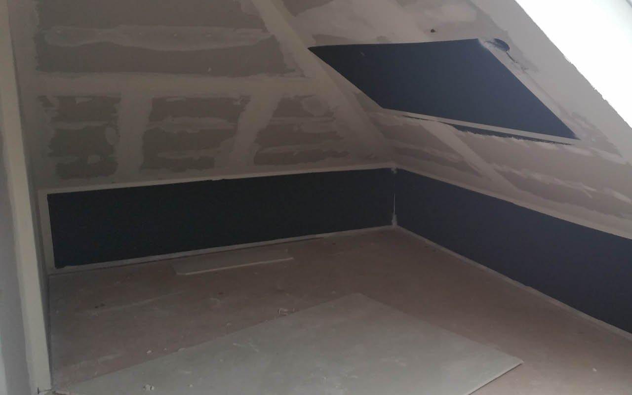 der heizanstrich ist ideal für den dachbodenausbau